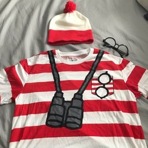 New with tags where's Waldo costume